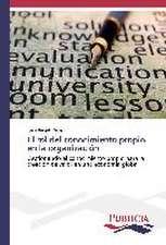 El Rol del Conocimiento Propio En La Organizacion:  Colaboracion Publico-Privada En Gestion Sanitaria