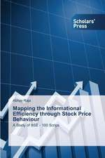 Mapping the Informational Efficiency Through Stock Price Behaviour:  Women Self Help Groups Carrying on Dairy Business