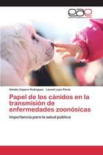 Papel de Los Canidos En La Transmision de Enfermedades Zoonosicas