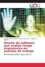 Diseno de Software Que Evalua Riesgo Ergonomico En Puestos de Trabajo