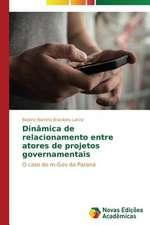 """Dinamica de Relacionamento Entre Atores de Projetos Governamentais:  Quem Sao OS """"Perigosos""""?"""