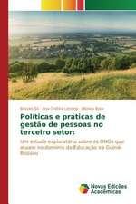 Politicas E Praticas de Gestao de Pessoas No Terceiro Setor:  Unidade de Terapia Intensiva Neonatal
