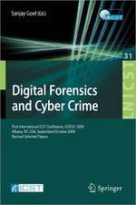 Digital Forensics and Cyber Crime: First International ICST Conference, ICDF2C 2009, Albany, Ny, USA, September 30 - October 2, 2009, Revised Selected Papers