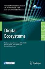 Digital Eco-Systems: Third International Conference, OPAALS 2010, Aracujú, Sergipe, Brazil, March 22-23, 2010, Revised Selected Papers