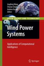 Wind Power Systems: Applications of Computational Intelligence