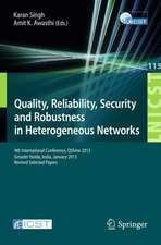 Quality, Reliability, Security and Robustness in Heterogeneous Networks: 9th International Confernce, QShine 2013, Greader Noida, India, January 11-12, 2013, Revised Selected Papers