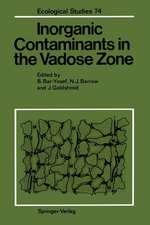 Inorganic Contaminants in the Vadose Zone