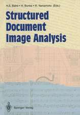 Structured Document Image Analysis