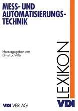 Lexikon Meß- und Automatisierungstechnik