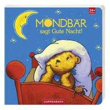 Der kleine Mondbär sagt Gute Nacht!