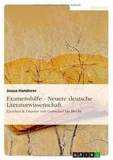 Examenshilfe - Neuere deutsche Literaturwissenschaft