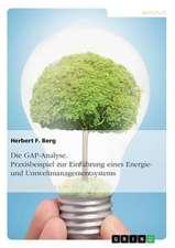 Die Gap-Analyse. Praxisbeispiel Zur Einfuhrung Eines Energie- Und Umweltmanagementsystems:  Pandels Modell Der Sieben Dimensionen Von Geschichtsbewusstsein
