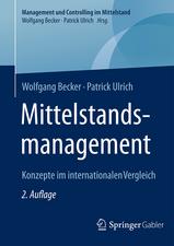Mittelstandsmanagement: Konzepte im internationalen Vergleich