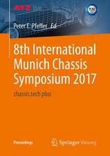 8th International Munich Chassis Symposium 2017: chassis.tech plus