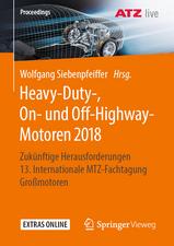 Heavy-Duty-, On- und Off-Highway-Motoren 2018