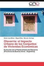 Olavarria:  El Impacto Urbano de Los Conjuntos de Viviendas Economicas