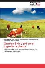 Grados Brix y PH En El Jugo de La Planta:  La Experiencia de Brasil y Cuba