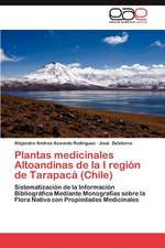 Plantas Medicinales Altoandinas de La I Region de Tarapaca (Chile):  Habilidad Motriz Basica y Patron de Movimiento