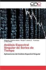Analisis Espectral Singular de Series de Tiempo:  Sjb Adaptado