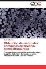 Obtencion de Materiales Ceramicos de Zirconia Nanoestructurada:  Alumnos Con Necesidades Educativas Especiales