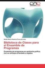 Biblioteca de Clases Para El Ensamble de Programas:  Escudo y Altar de La Mujer
