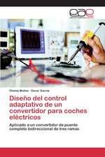 Diseno del Control Adaptativo de Un Convertidor Para Coches Electricos