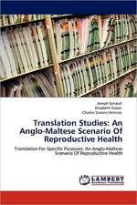 Translation Studies: An Anglo-Maltese Scenario Of Reproductive Health