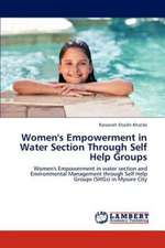 Women's Empowerment in Water Section Through Self Help Groups