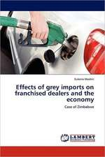 Effects of grey imports on franchised dealers and the economy