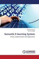 Semantic E-learning System
