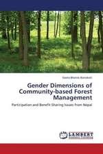 Gender Dimensions of Community-based Forest Management