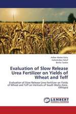Evaluation of Slow Release Urea Fertilizer on Yields of Wheat and Teff