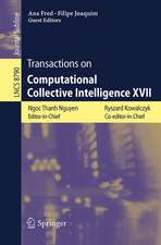 Transactions on Computational Collective Intelligence XVII