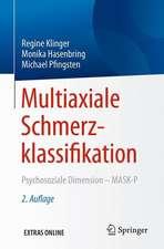 Multiaxiale Schmerzklassifikation: Psychosoziale Dimension - MASK-P