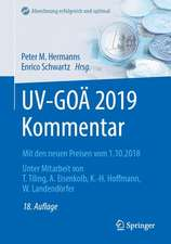 UV-GOÄ 2019 Kommentar: Mit den neuen Preisen vom 1.10.2018