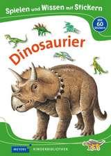 Spielen und Wissen mit Stickern - Dinosaurier