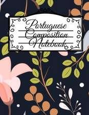 Portuguese Composition Notebook