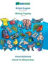 BABADADA, British English - Wikang Tagalog, visual dictionary - biswal na diksyunaryo