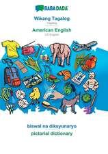 BABADADA, Wikang Tagalog - American English, biswal na diksyunaryo - pictorial dictionary