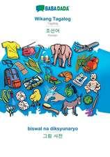 BABADADA, Wikang Tagalog - Korean (in Hangul script), biswal na diksyunaryo - visual dictionary (in Hangul script)
