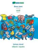 BABADADA, Basa Jawa - Marathi (in devanagari script), kamus visual - visual dictionary (in devanagari script)