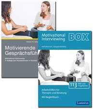 Motivierende Gesprächsführung - Set mit Buch und Arbeitshilfenkarten