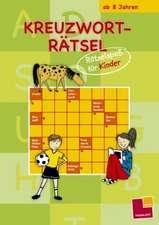 Kreuzworträtsel: Rätselspaß für Kinder (grün)