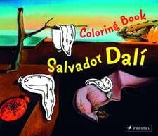 Salvador Dali: Coloring Book