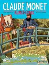 Kunst-Comic Claude Monet