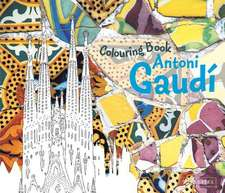 Antoni Gaudi Colouring Book