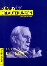 Der Hobbit. Erläuterungen und Materialien