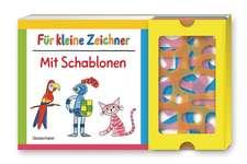 Für kleine Zeichner mit Schablonen-Set
