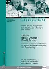 PEDI-D & Bewertungsbogen im 'Set