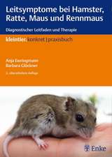 Leitsymptome bei Hamster, Ratte, Maus und Rennmaus